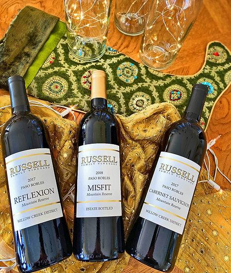 Stocking Stuffer Reserve Wine 3-Pack