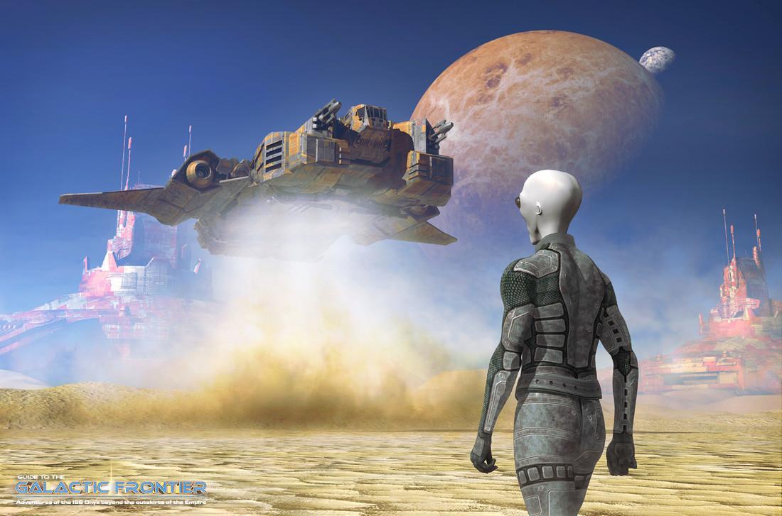 Galactic Frontier - Landing