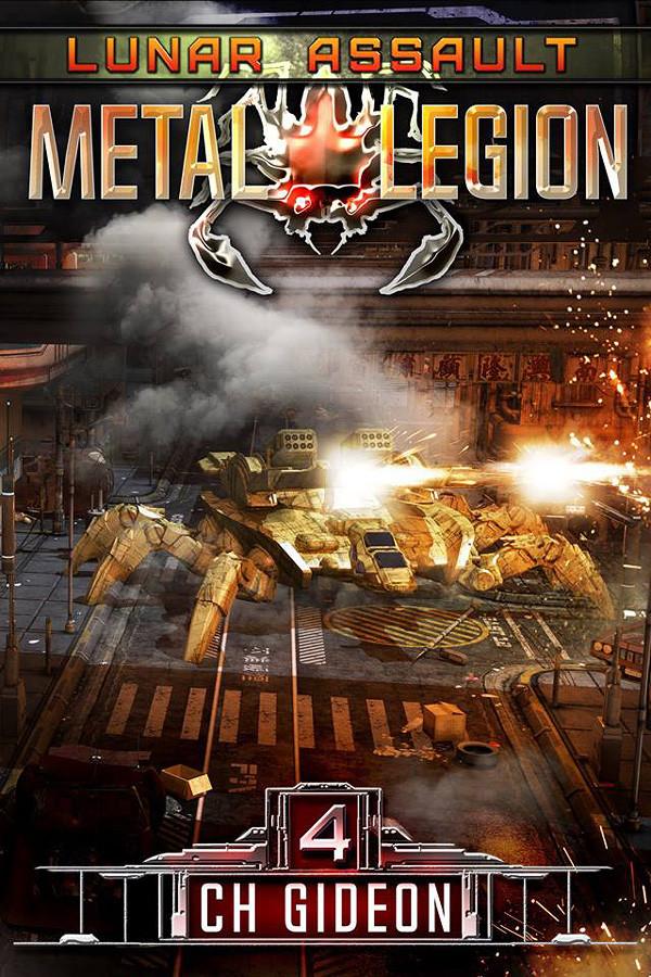 Meta Legion book 4 - novel