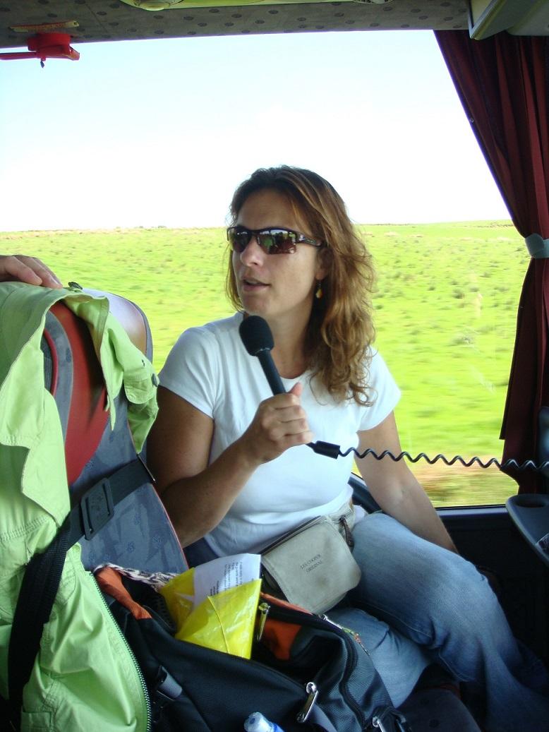 באוטובוס