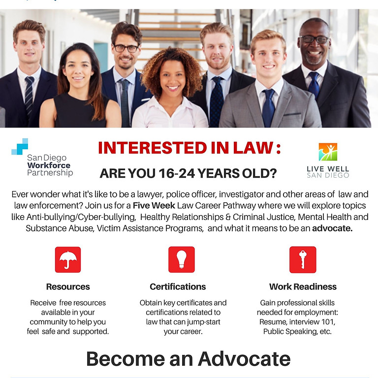Law Career Pathway