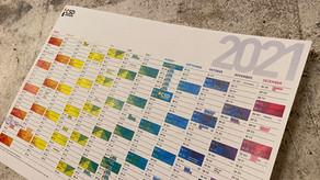 CSD NÜRNBERG Queer-Kalender 2021 – zum selbst Ausdrucken
