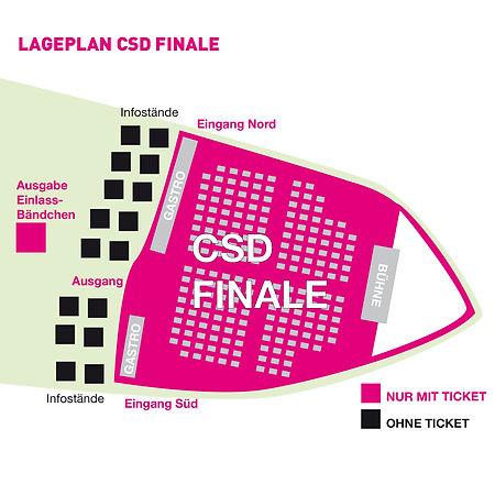 CSD Nürnberg PRIDE Lageplan Location