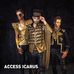 ACCESS ICARUS - stehen für ausgefeilten, mitreißenden Stadion-Rock abseits bekannter Deutschrockclichés, Indierocksounds und Deep-House-Hypes. Dabei scheuen sie auch nicht die internationale Ausrichtung durch englische Texte und ein weites Soundgewand à la Muse, Coldplay oder The Killers.