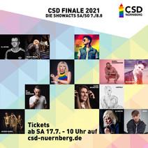 CSD FINALE 2021- ARTISTS