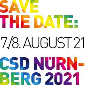 Termin –CSD NÜRNBERG 2021
