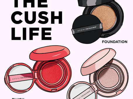 The Cush Life With Avon. Introducing Avon's New Makeup from the Face Shop!