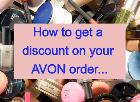 Avon Discounts! How do I get them! Register at my online store!