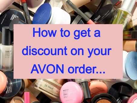 Avon Coupons & Discounts!