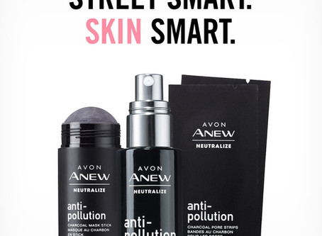 Avon Introduces New Products to Counter Todays Pollution!