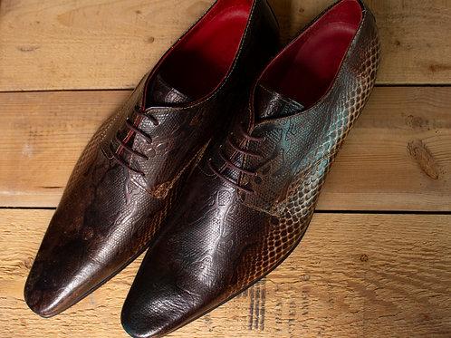Italian Leather Brown Wingtips