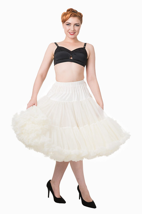 Banned Retro Ivory Petticoat