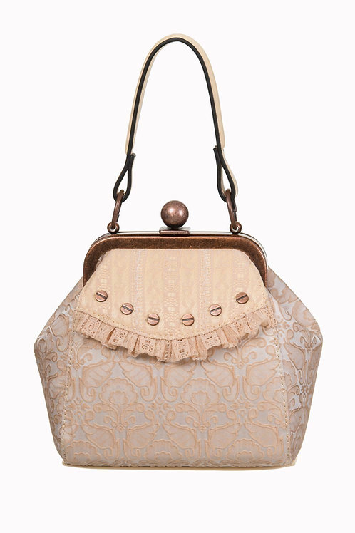 Banned Retro Lace Studded Bag