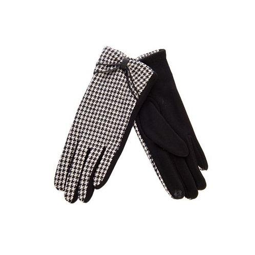 Banned Retro Lulu Houndstooth Gloves
