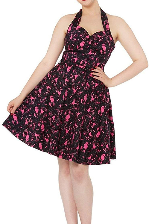 Voodoo Vixen Pink Poodle Dress