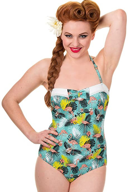 Banned Retro Flamingo Swimsuit