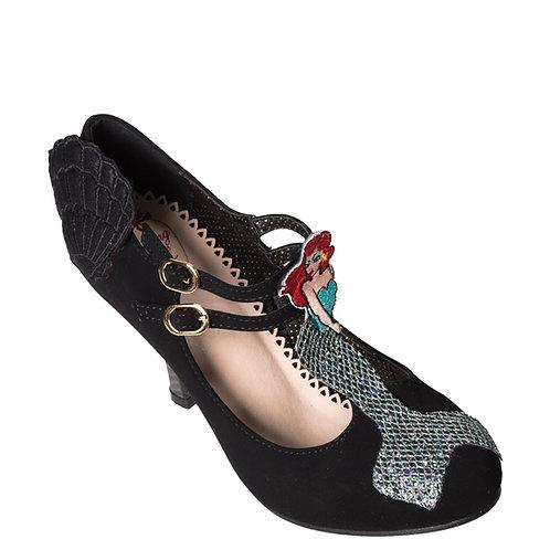 Banned Retro Stella By Starlight Black Mermaid Heels