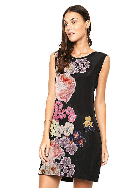 Desigual Women Vane Appliquéd Shift Dress
