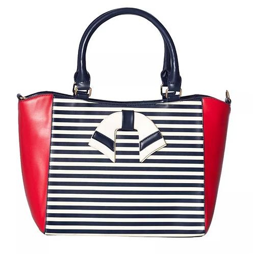 Dancing Days Vintage Nautical Blue/Red Bag