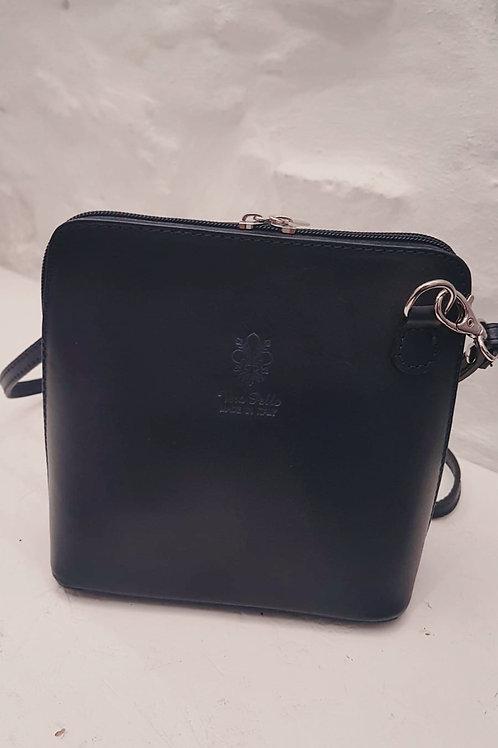 Genuine Leather Navy Shoulder bag