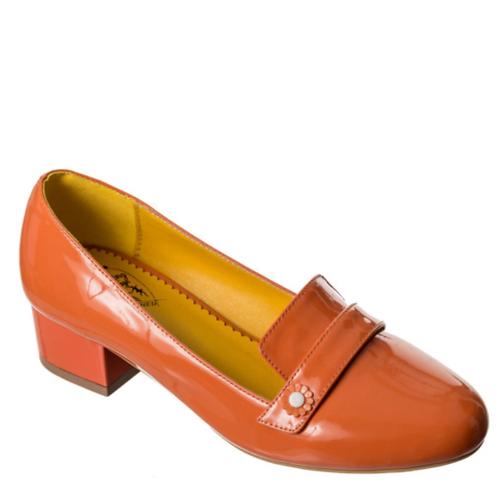 Banned Retro Little Wonder Orange Loafer