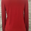 Thumbnail: Amazing Woman Red V-Neck Tie Jumper