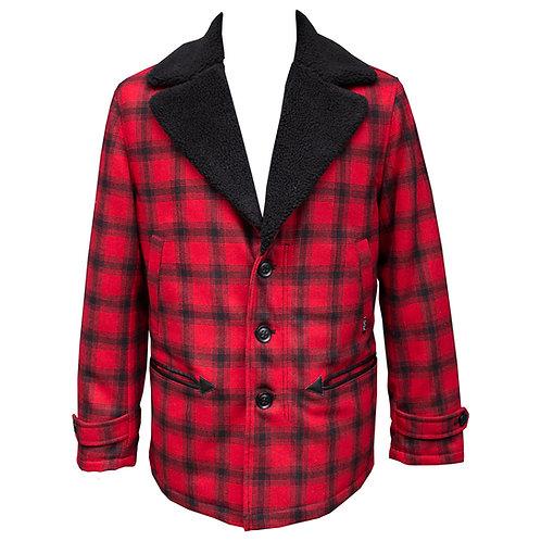 Woolen Fleece Lined Winter Coat by Chet Rock