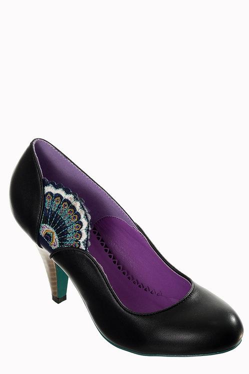 Dancing Days Sway Peacock/Fan Shoes