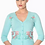 Thumbnail: Dancing Days Face To Face Turquoise Cardigan