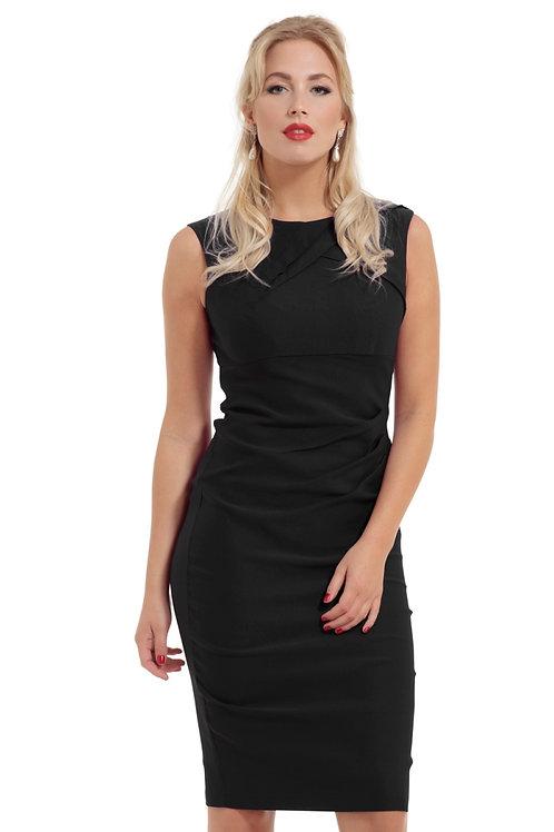 Voodoo Vixen Claudette Black Wiggle Dress