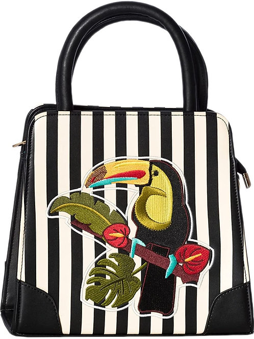 Dancing Days Stripe Toucan Bag