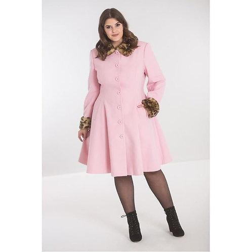 Hell Bunny Pink Robinson Coat
