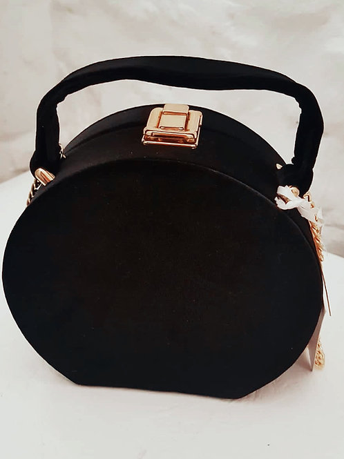 Joe Browns Womens Oracle Black Round Solid Case Handbag