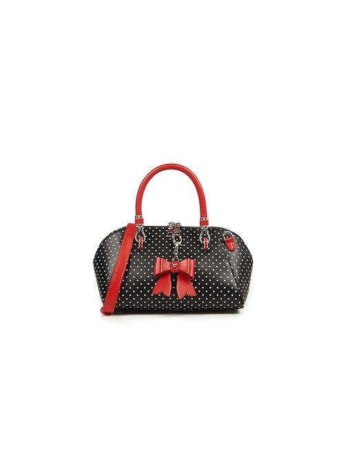 Banned Retro Lady Layla Polka Dot Handbag