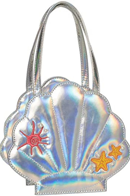 Banned Retro Silver Mermaid Bag