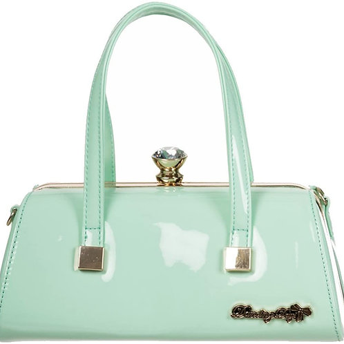 Dancing Days Emily Mint Green Handbag