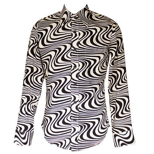 Chenaski Wavy Line Shirt