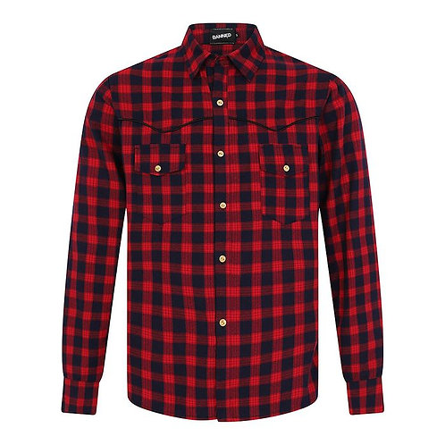 Banned Rockabilly Checked Shirt