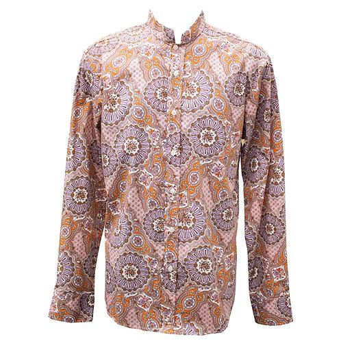 Chenaski Mao Paisley Lilac Shirt