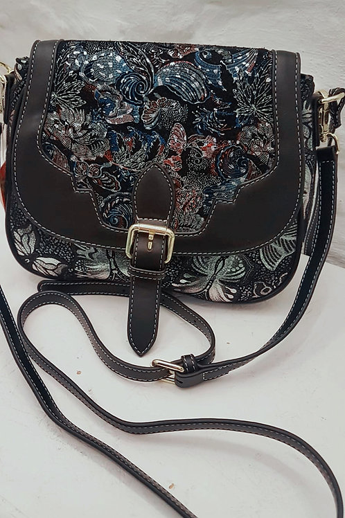 Laura Vita Butterfly Genuine Leather Bag