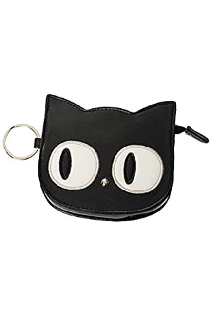 Banned Retro Cat Eyes Coin Purse