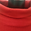 Thumbnail: Amazing Woman Red Tassel Roll Neck Jumper