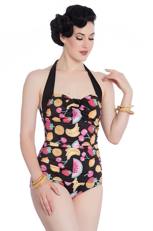 Hell Bunny Tutti Frutti Swimsuit