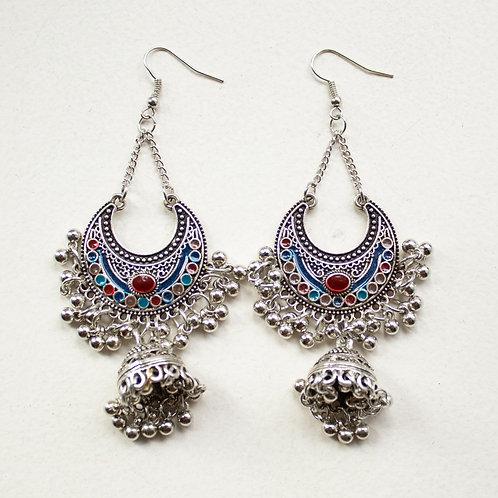 Indian Style Boho Tassle Earrings
