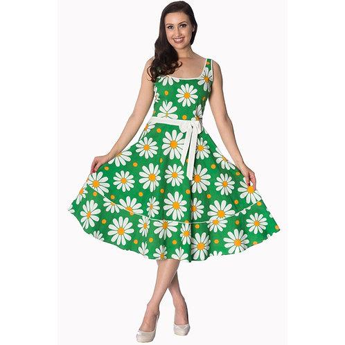 Dancing Days Crazy Daisy Green Sundress