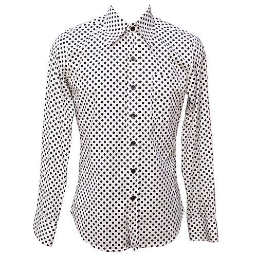 Chenaski 70s Polka Dot Shirt