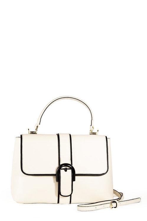 Banned Retro Far Out White Handbag