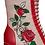 Thumbnail: Banned Fantasy Cream Rose Boots