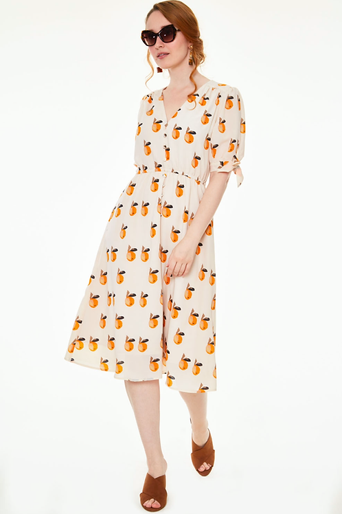 Voodoo Vixen Zaria Oranges Dress