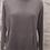 Thumbnail: Amazing Woman Grey Melange Plain Pocket Jumper
